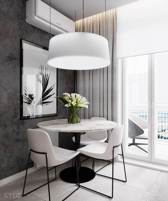 Even if interior design is your vocation, it can be a challenge to work in small spaces. When an apartment has to work for a couple or even a small family witho #moderninteriordesign