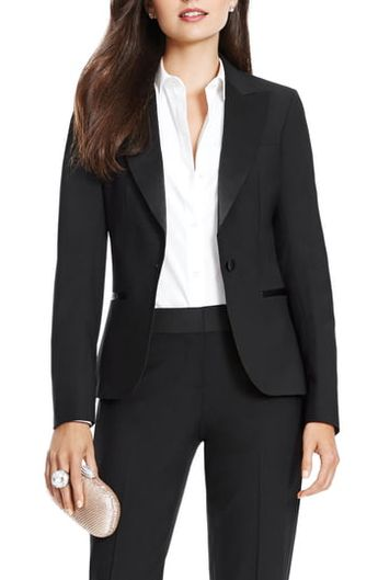 New After Six Wool Blend Tuxedo Jacket online