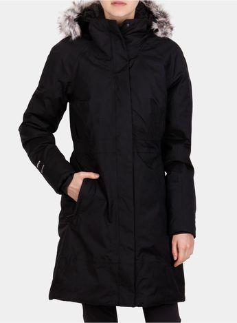 4c70b66265 Damski płaszcz puchowy The North Face Arctic Parka II - tnf black