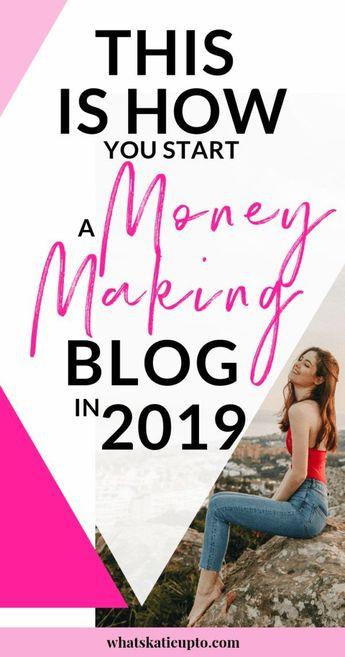 Start a Money-Making Blog in 2019 - FREE MINI COURSE - Katie Grazer Blog