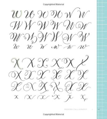 Modern Calligraphy Everything You Need To Know To Get Sta