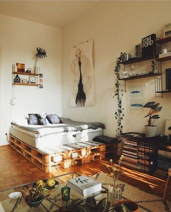 47 rustic bedroom ideas for creative people 24