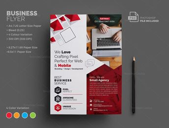 Jupiter Corporate Flyer Template - Graphic Templates