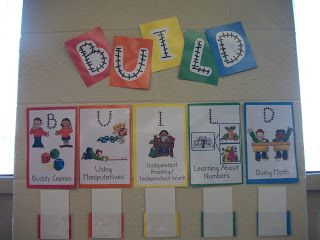 Miss Van Maren's Fantastic First Grade: BUILD Math Rotations