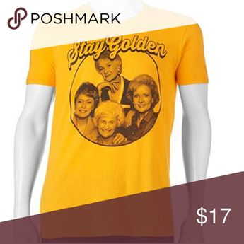 Golden Girls - Stay Golden - T-shirt Mens- NEW