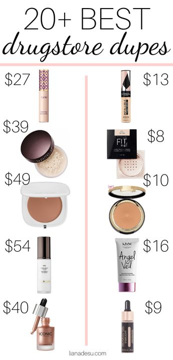 Best Drugstore Makeup Dupes 2019 - The Ultimate List