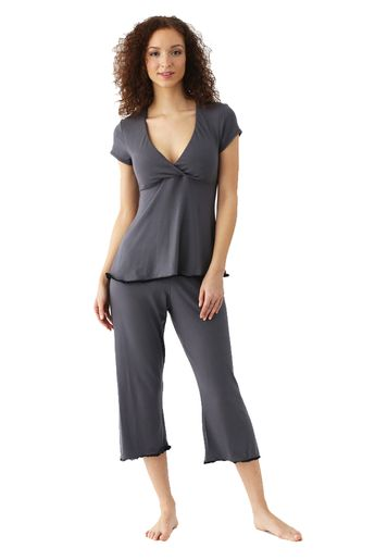 f530e20a91d95 Majamas Lacey Cropped MJ Maternity And Nursing Pajama Set | Maternity  Clothes BEST selection of Maternity