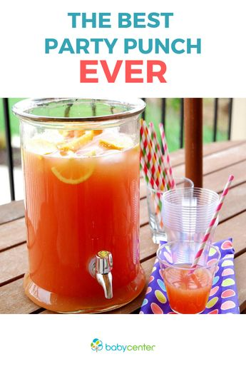 Party time! The best party punch ever...