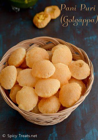 How to Make Puris For pani Puri