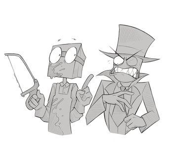 Recently shared villainous dr flug evil ideas & villainous