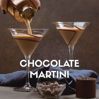 Make any occasion special with this Chocolate Martini recipe! Our step-by-step video will show you exactly how to make your own decadent Chocolate Martini. #chocolate #martinirecipe #holidaycocktails