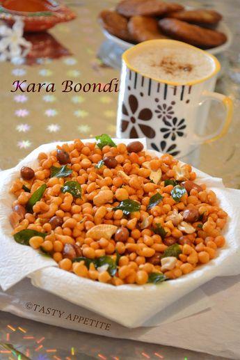 Tasty Appetite: How to make Kara Boondhi at home ? / Kara Boondhi Recipe / Diwali Snacks Recipes