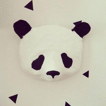 Pappmaché Panda