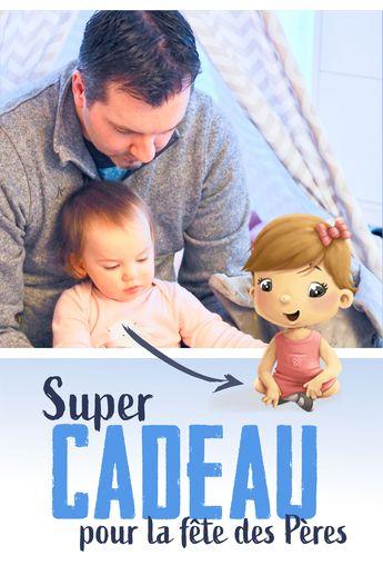 Pour la fête des Pères, offrez à un papa un livre dans lequel son propre personnage, aux côtés de celui de son enfant, vivent de belles aventures ! En plus de choisir leur apparence, vous choisissez les histoires qu'ils vont vivre et écrivez un mot personnalisé. C'est le cadeau idéal !