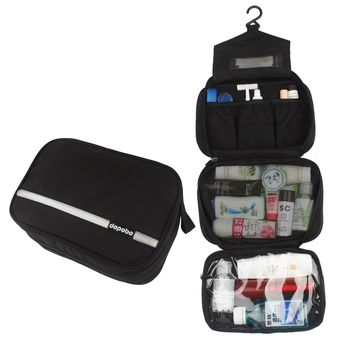 04eef1b07d1 Travelling Toiletry Bag, Dopobo Portable Hanging Water-Resistant Wash Bag  for Travelling, Business