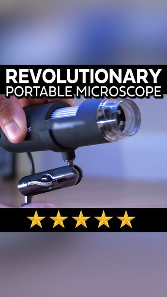 1000X Zoom 1080p Microscope Camera