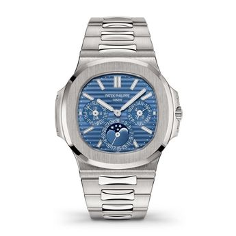 Patek Philippe Nautilus Perpetual Automatic Blue Dial Men's Watch 5740/1G-001