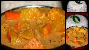 Sihi Kumbalakayi Koddel/ Red Pumpkin Curry