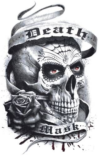 T-Shirt Homme SPIRAL - Death Mask