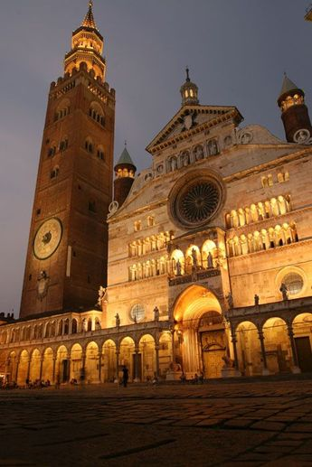 Cremona, Italy, where my Grandfather is from. Someday I will see it with my own eyes.....