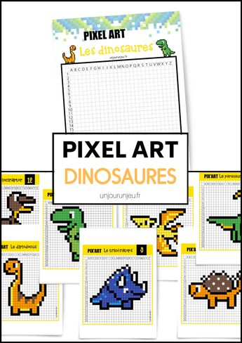 Les dinosaures reviennent en Pixel Art