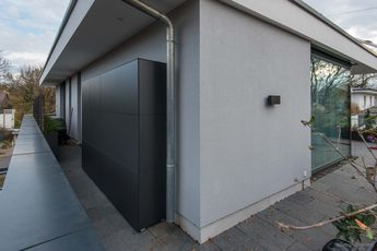 Terrace Cupboard Custom Made Balcony Cabinet By Design