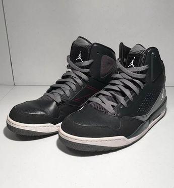 NIKE Jordan Flights SC-3 Size 11 Black gray 629877-015  fashion 3f1421e82