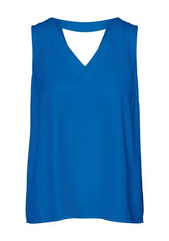 Vero Moda - Vero Moda V-neck sleeveless top Nebulas Blue - xs