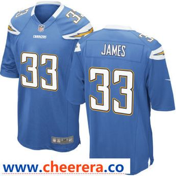 Hot Men San Diego Chargers 99 Bosa Blue Color Rush Nike Limited  supplier