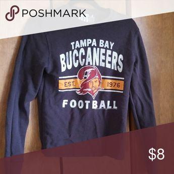 Tampa Bay Bucs longsleeve shirt Waffle material Bucs long sleeve T Tops Tees - Long Sleeve