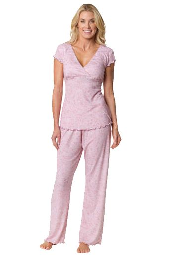 9a849acda924e Genna Nursing PJ Set in Pink Cameo by Majamas | Maternity Clothes Available  at Due Maternity