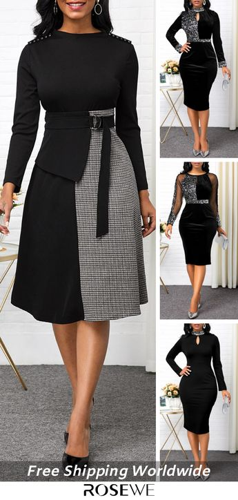 Black Cute Dress For Women. FREE SHIPPING OVER $20 & 30 DAYS EASY RETURNS.