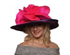 38af7093641 Fanny Women Voile Fascinator Church Formal Party Hat W042 -