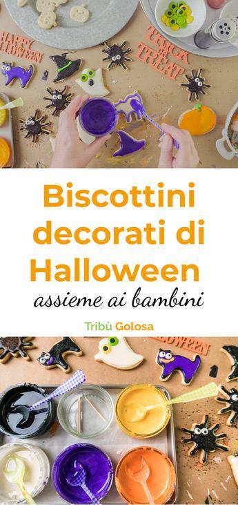 Come preparare dei biscottini decorati di Halloween assieme ai bambini