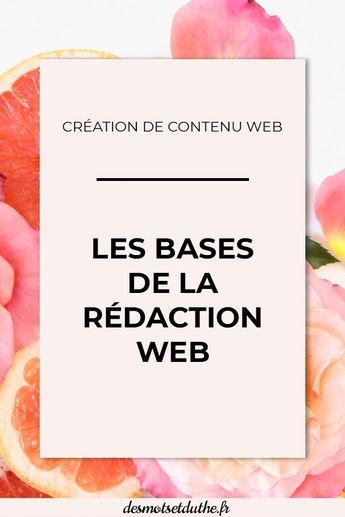 Techniques de rédaction web : les bases à connaitre