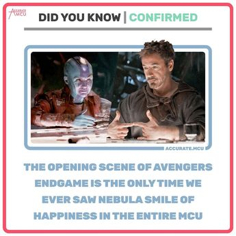 "mcu fanpage on Instagram: ""• LET THIS SINK IN... • I loved Nebula and Tony's dynamic. I also really liked Nebula and Rhodes as a due. Who was your favorite duo /…"""
