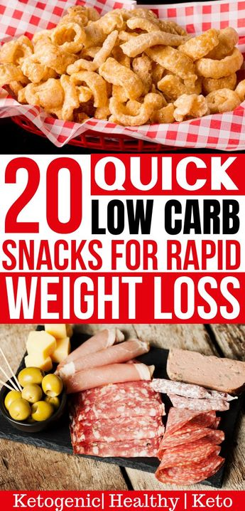 20 Easy Low Carb Snacks (Keto Snacks) On the Go