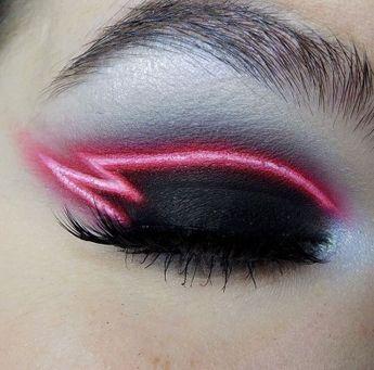 Neon makeup ! En mode électrique, j'adore ⚡️ // maquillage // tendance