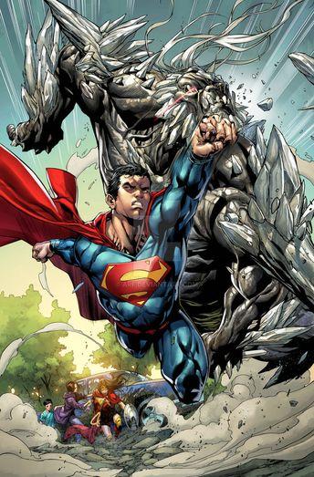 Superman vs Doomsday by Stephen Segovia