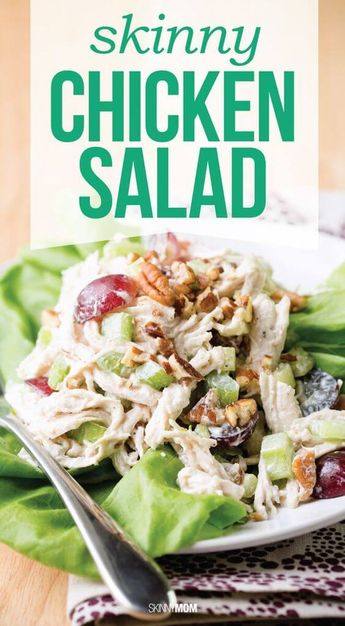 25 of the Best Main Dish Chicken Salad Recipes on Pinterest