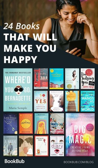 24 Feel-Good Books That Will Make You Happy