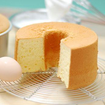 シフォンケーキの作り方 失敗しない、基本とコツ
