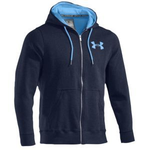 Under Armour Charged Cotton Storm Fleece F/Z Hoodie - Men's - Black/Graphite