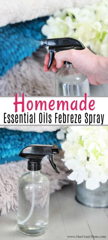 DIY Febreeze - All Natural and Easy to Make at home
