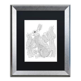 Trademark Global Hello Angel Animals 12 Matted Framed Art - 11