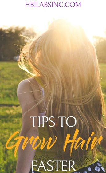 8 Tips to Grow Hair Faster