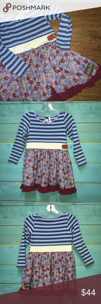 Matilda Jane Character Counts Dress Fall Twirl Dress in excellent condition with no major wear Matilda Jane Dresses Casual