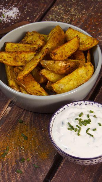 Potatoes et sauce deluxe
