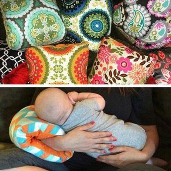 Women Mom Nursing Pillow Breastfeeding Arm Pillow