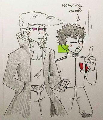 Mondo Oowada x Kiyotaka Ishimaru Ishimondo